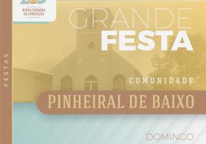 Pinheiral de Baixo homenageia São José neste domingo