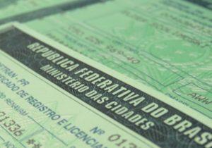 Documentos de licenciamento disponíveis no Detran