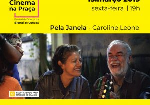 """Cine Móvel exibe gratuitamente """"Pela Janela"""""""