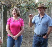 O casal Nilton e Elizabeth Mayer Wendler investiram na fabricação de suco e vinho, no município.