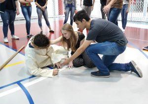 Jovens da Paróquia se preparam para teatro da Paixão de Cristo