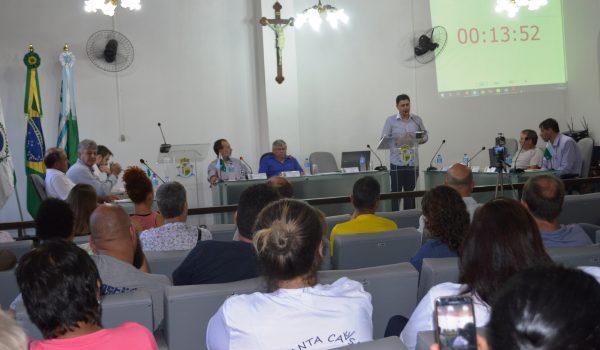 Vereadores rejeitam projeto de suplementação para Expo Palmeira