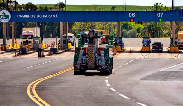 Praça de pedágio de Porto Amazonas já está operando com valor reduzido nesta terça-feira (30)