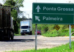 DER entra com pedido para duplicação da PR 151 entre Palmeira e Ponta Grossa