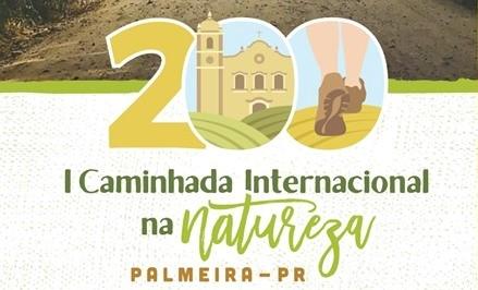 Palmeira se prepara para receber a I Caminhada Internacional na Natureza