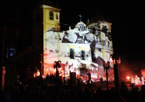 População palmeirense prestigia espetáculo 'Bicentenário – A história'