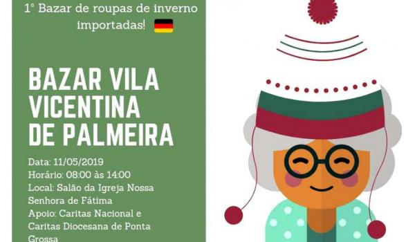 Bazar da solidariedade: roupas de inverno, em prol da Vila Vicentina