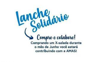 AMAS será beneficiada com o lanche solidário Franco
