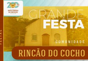 Rincão do Cocho celebra festa do Divino Espírito Santo neste domingo (26)