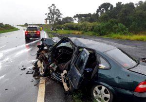 Uma pessoa morre em acidente que envolveu quatro veículos em Palmeira