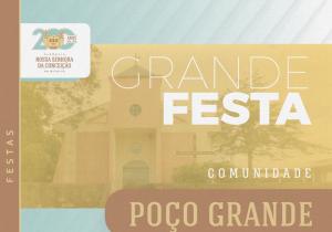 Comunidade de Poço Grande celebra neste São João Batista neste domingo (16)