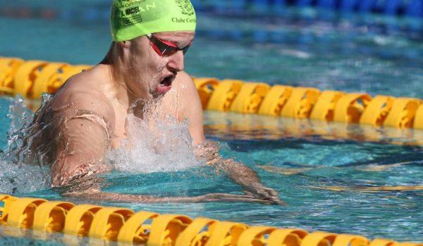 Luigi Maciel da Silva conquista 4 medalhas em Campeonato Brasileiro de natação em Minas Gerais