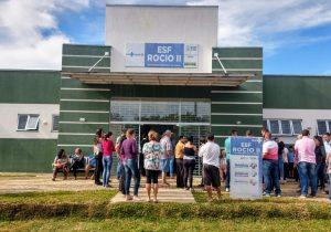 ESF do Rocio II homenageia ilustre médico de Palmeira