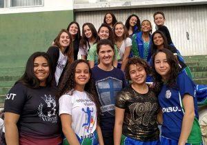Handebol feminino de Palmeira estreia com vitória na fase regional dos JOJUPs