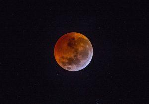 Eclipse da lua estará visível nesta noite (16)