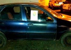PM de Palmeira recupera veículo furtado em Ponta Grossa