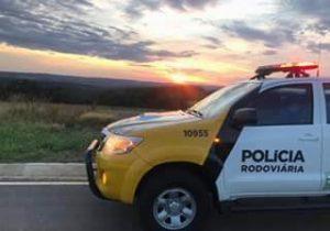 Polícia Rodoviária Estadual e Bombeiros atendem atropelamento na PR 151