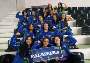 Handebol feminino de Palmeira participa da fase regional dos Jogos da juventude do Paraná