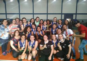 Palmeira é Campeã regional de handebol feminino dos Jogos da Juventude