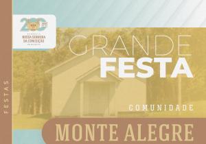 Monte Alegre celebra Nossa Senhora de Czestochowa neste domingo (25)