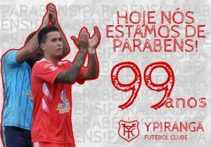 Ypiranga comemora 99 anos de história nesta terça-feira (06)