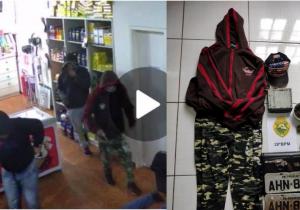 Denúncias e imagens levam PM a localizar suspeitos de assaltos em Palmeira