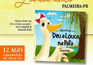 Livro Infantil de escritora palmeirense será lançado nesta segunda-feira  (12)