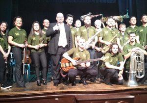 Orquestra Municipal de Palmeira homenageia imigração italiana em apresentação na Lapa
