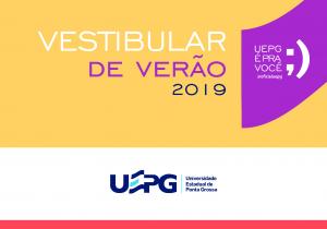 UEPG divulga datas do Vestibular de Verão 2019