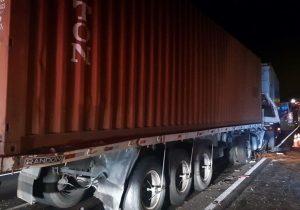 Motorista morre em acidente de trânsito na BR 376 em Palmeira
