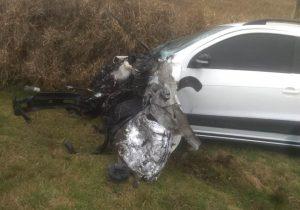 Homem morre em acidente na PR 151 entre Palmeira e Ponta Grossa