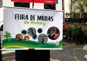 Rotary Clube promove feira de mudas em comemoração ao dia da árvore