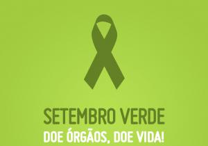 Secretaria de Saúde celebra o Setembro Verde em homenagem a doadores de órgãos
