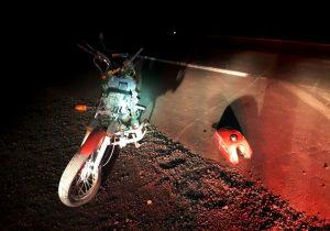 Motociclista fica ferido após acidente na BR 277 em Palmeira