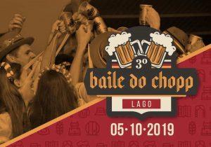 Baile do Chopp do Lago deve movimentar Palmeira neste sábado (05)