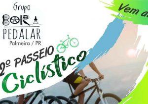 Grupo Bora Pedalar realiza 2° passeio ciclístico neste sábado (12)