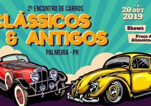 Encontro de Carros Clássicos e Antigos acontece no próximo dia 20