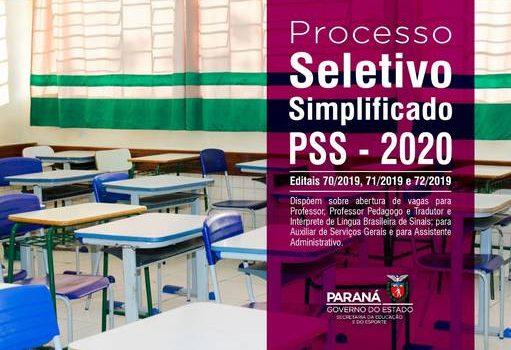Secretaria de Educação publica edital para PSS