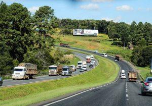 Rodovias estaduais têm redução de 21,43% nos acidentes