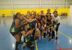 Handebol feminino de Palmeira conquista 6º lugar no Campeonato Paranaense sub 14