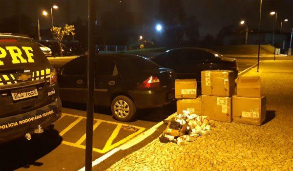 Veículo com medicamentos ilegais é apreendido em Porto Amazonas
