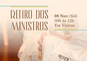 Ministros participam de retiro neste sábado (09)