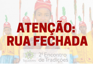 """Rua do centro será fechada para evento """"Encontro de Tradições"""""""
