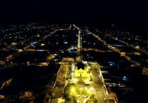 Ruas e praças receberão nova iluminação Led