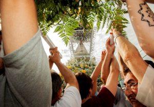 Romeiros visitam Santuário de Nossa Senhora do Rocio para celebrar Padroeira do Paraná