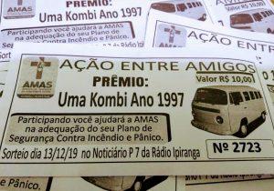Ação entre amigos da Amas arrecada mais de R$ 20 mil
