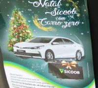Dia 27 de dezembro será realizado o sorteio do automóvel Toyota Corolla 2019, automático - 0 km.