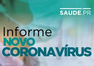 Paraná registra 25 novos casos de coronavírus