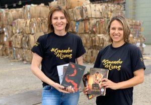 Huhtamaki arrecada mais de 10 mil livros para o projeto Pegaí Leitura Grátis