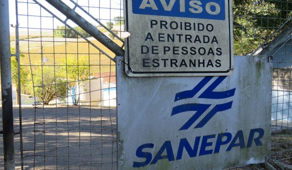 Sanepar irá suspender rodízio no abastecimento em Palmeira